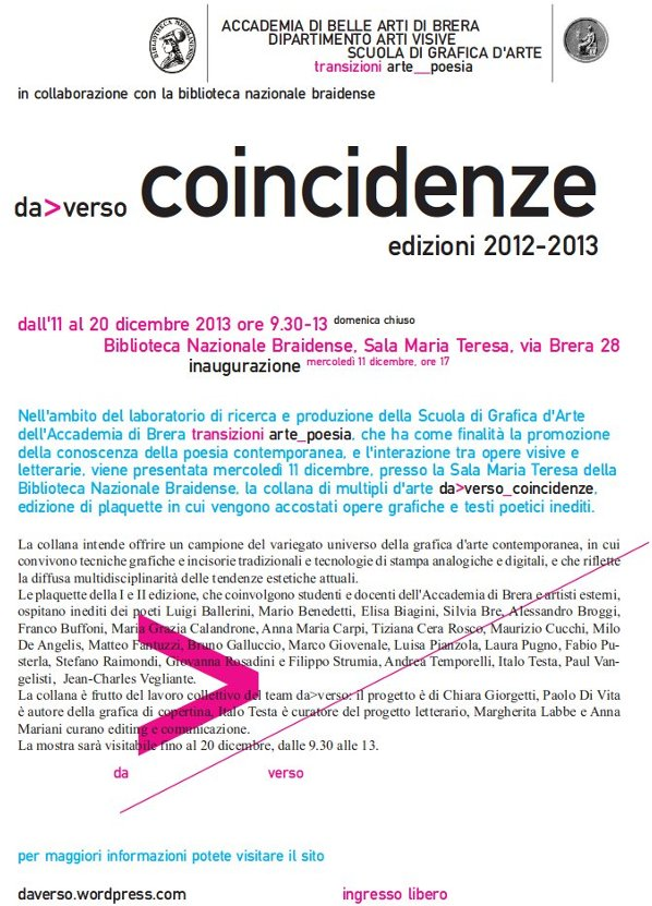coincidenze2013