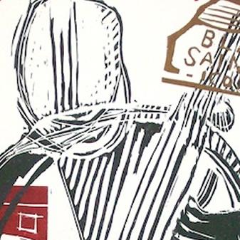 black saint icona - archivio - dettaglio