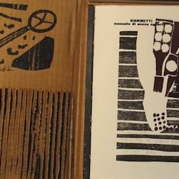 manuale di scavo agrario - libro d'artista - dettaglio
