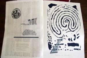 quaderno di guerra - libro d'artista